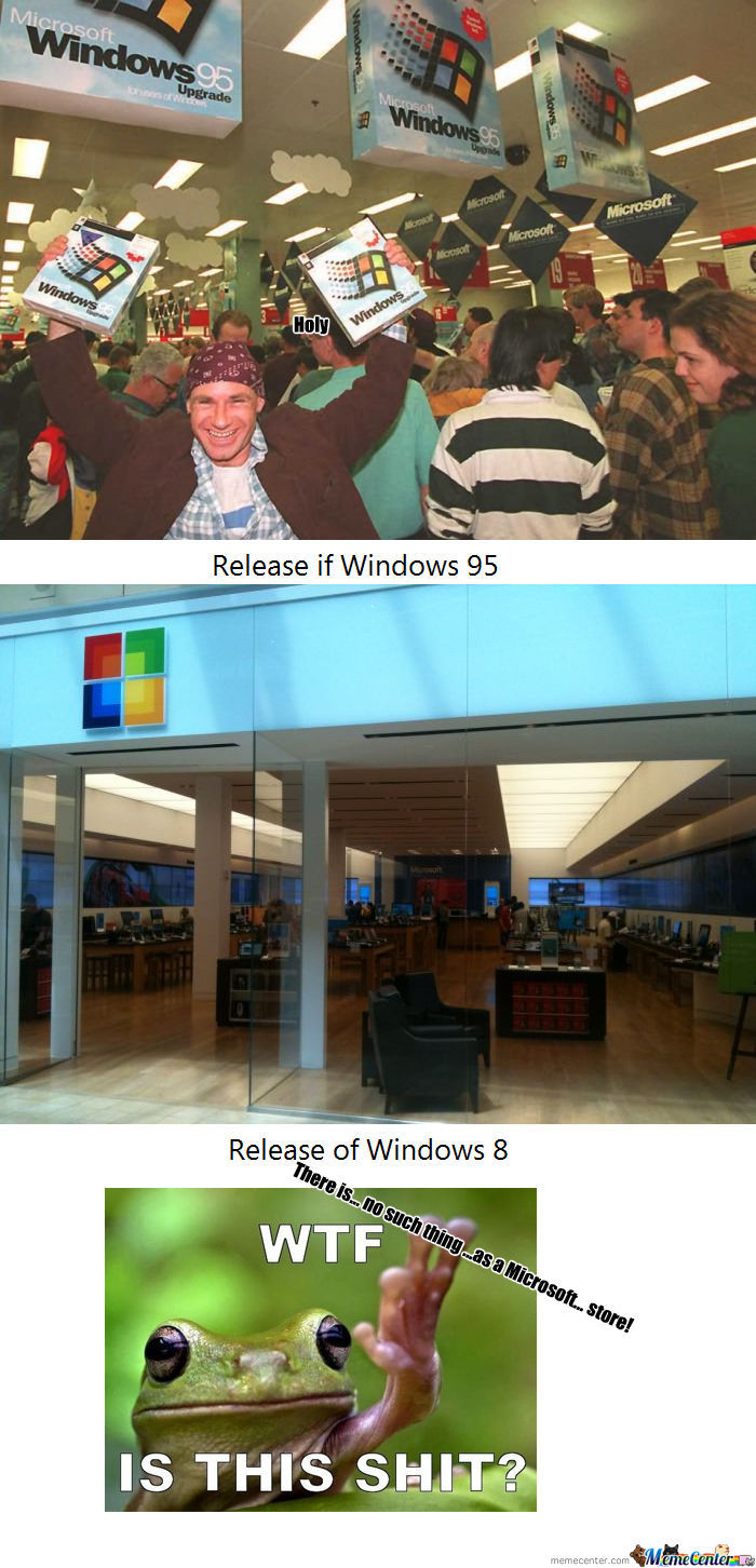 [RMX] Windows 95: 1, Windows 8: 0