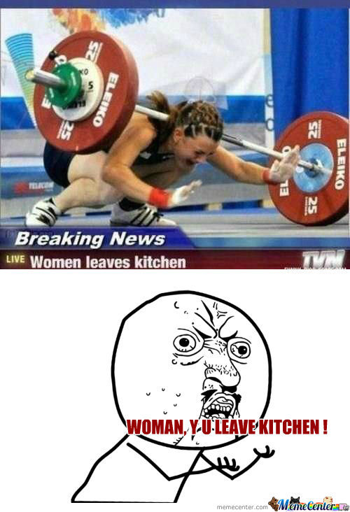 [RMX] Women .. Y U Leaves Kitchen