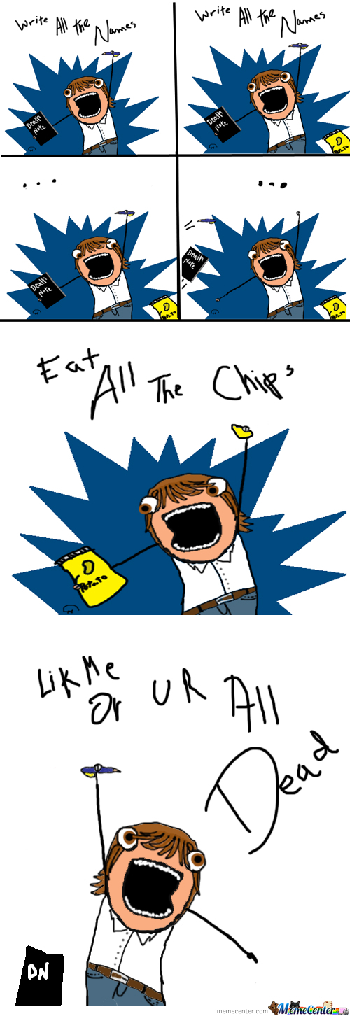 [RMX] Write All The .... Chips