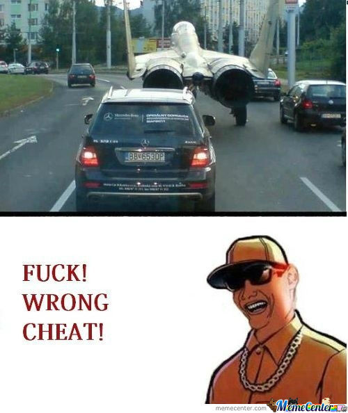 [RMX] Wrong Cheat!