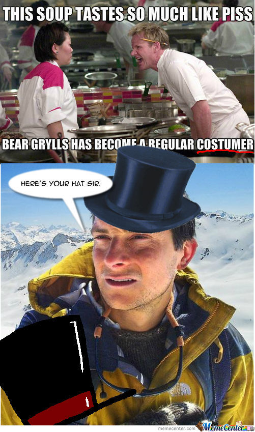 [RMX] Y Bear Grylls Goes To Ramsay!!!!!!