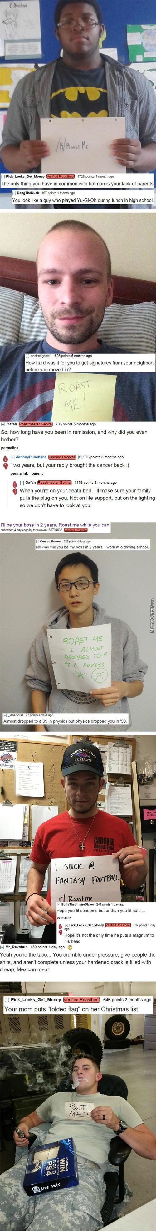 Roastme Compilation