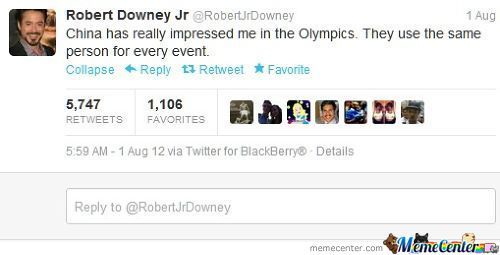 Robert Downey Jr Being Awesome Again