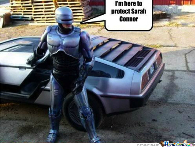 Robocop Has Gone Back To The Future