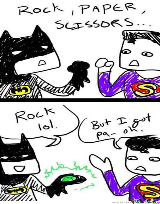 Rock Beats Superman