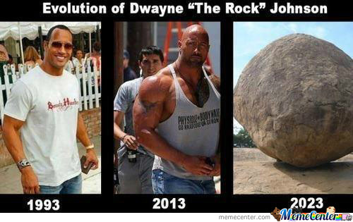 Rock Evolution, You're Doing It Wrong..!