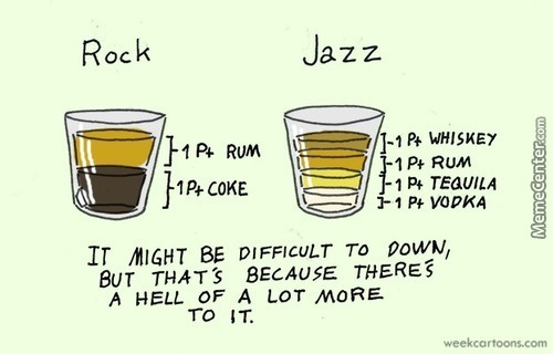 Rock Versus Jazz