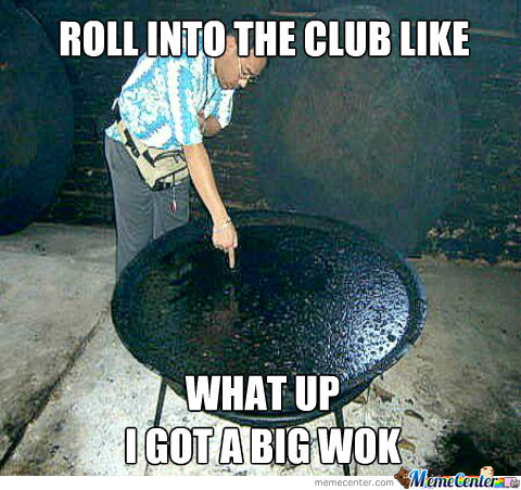 Roll Into The Club...
