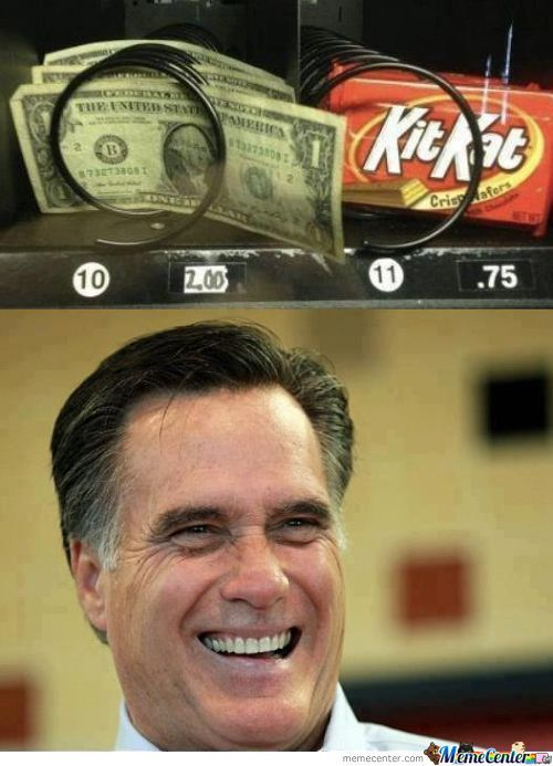 Romney's Kind Of Snack.