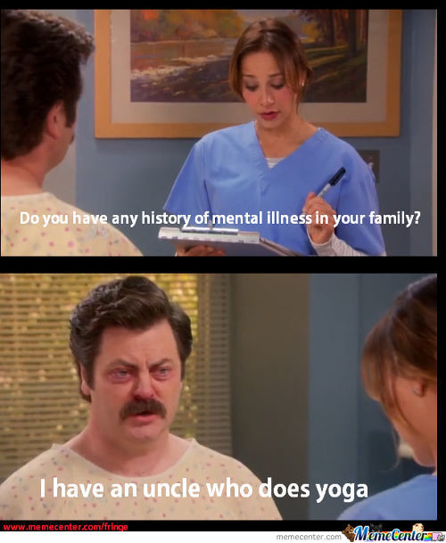 Ron Swanson's Check-Up