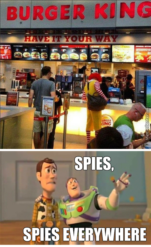 Ronald The Spy