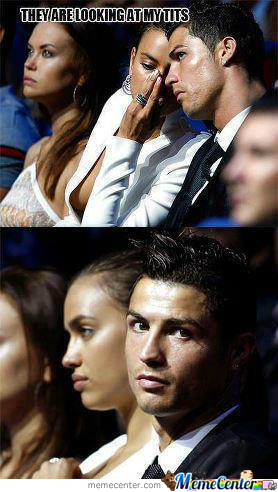 Ronaldo Is Not Happy