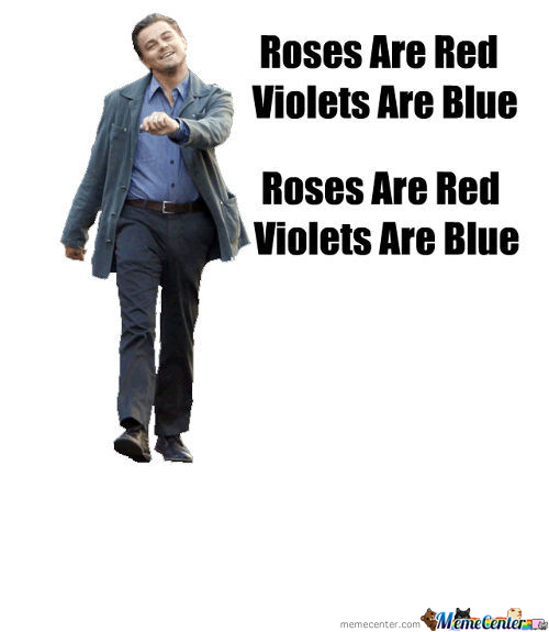Roses Are Red...