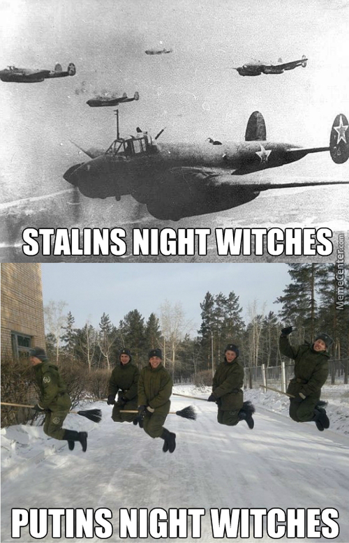 Rossia Stronk, Euro Fear Our Mighty Night Bombers