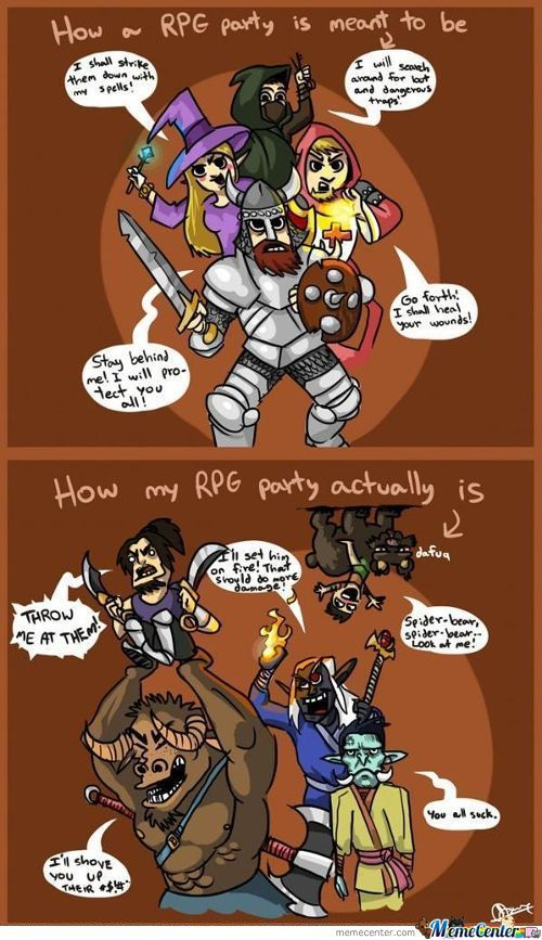 Rpg Party Games