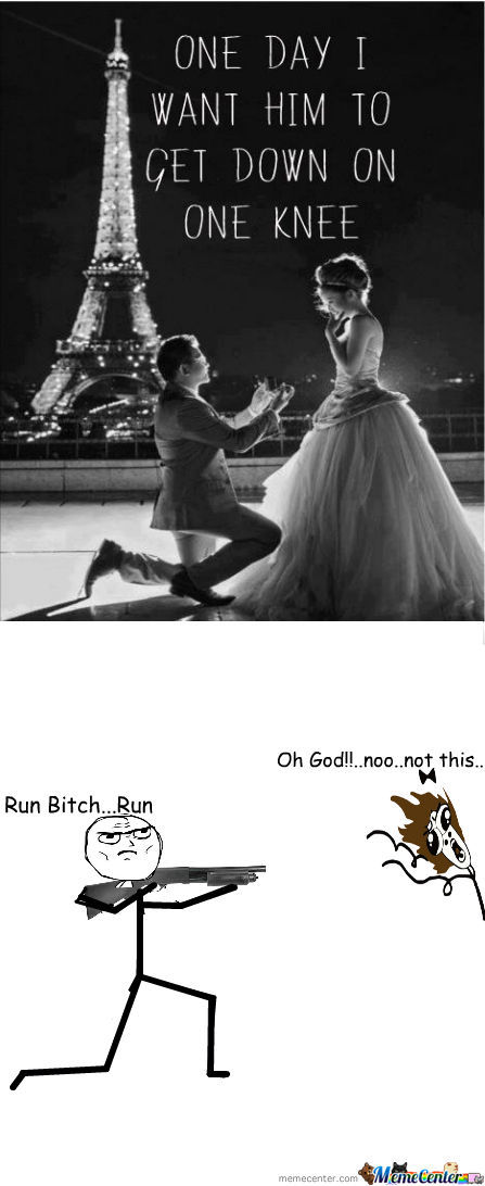 Run Bitch..run