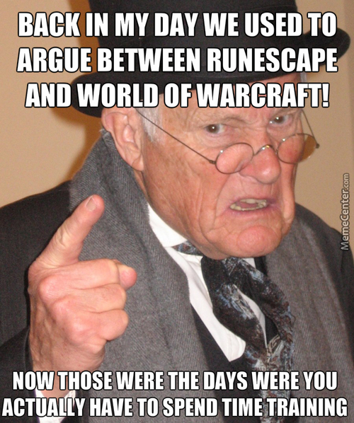 Runescape Was Number One Before Lol In Free To Play