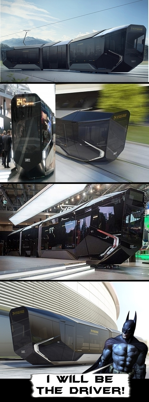 Russia's Future Tram Is Looking For A Driver