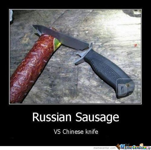 Russia Vs China