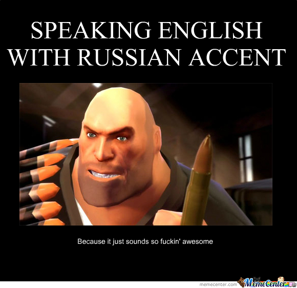 how to write a russian accent