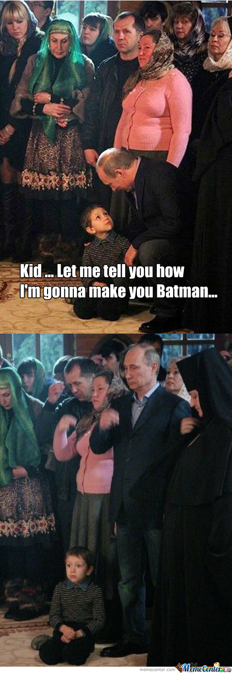 Russian Batman Begins