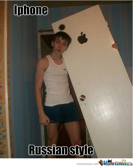 Russian Iphone