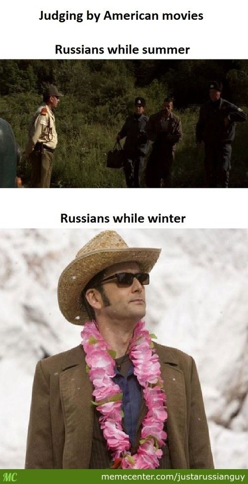 Russians In American Movies
