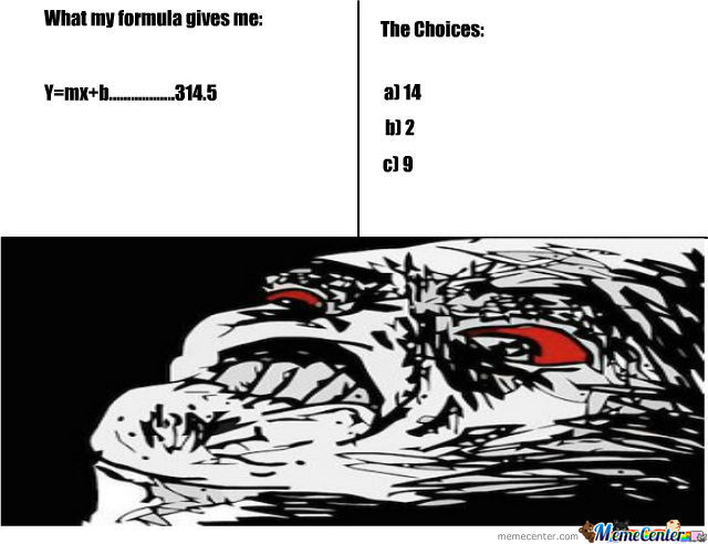 Sad But True Story During Multiple Choice Quizzes