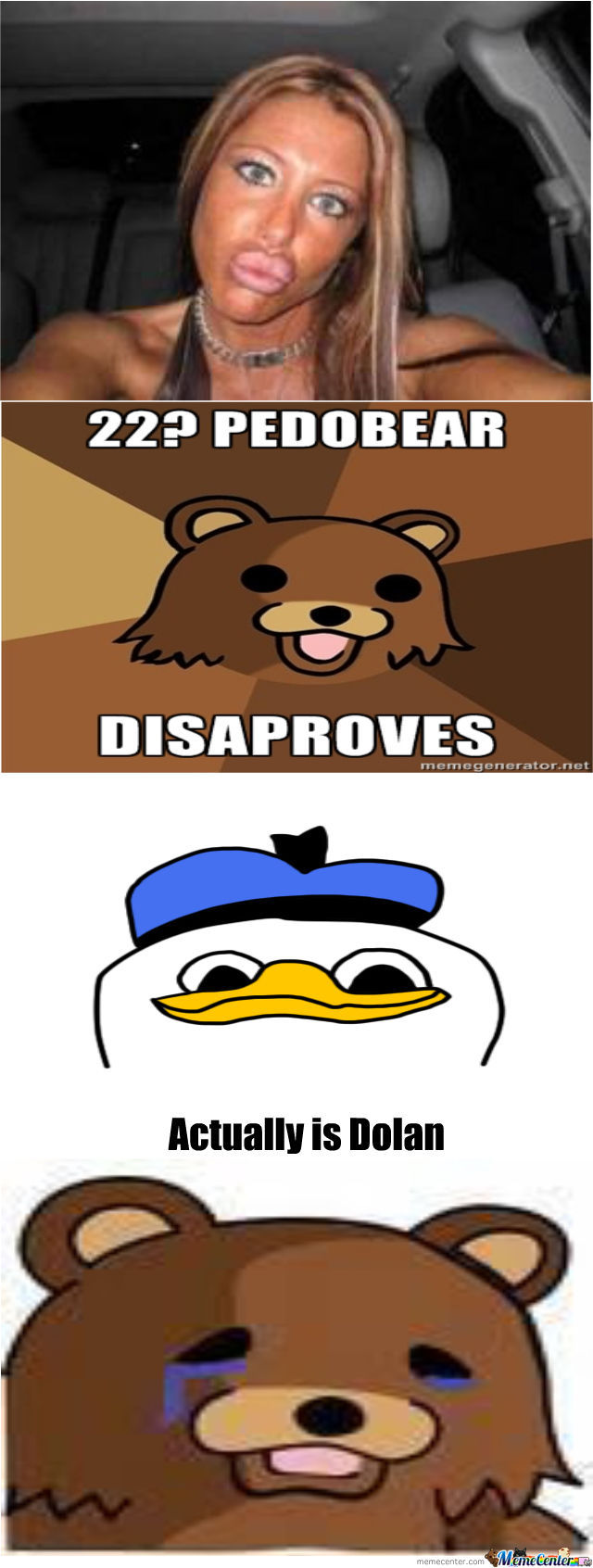 Sad Pedobear Is Sad