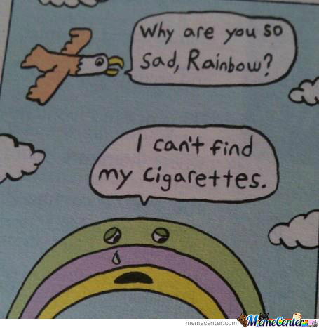 Sad Rainbow Is Sad