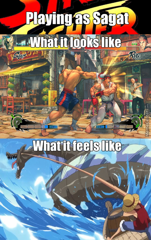 Sagat Don't Need Your Yoga To Have A Long Arm