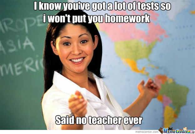 Said No F*cking Teacher Ever
