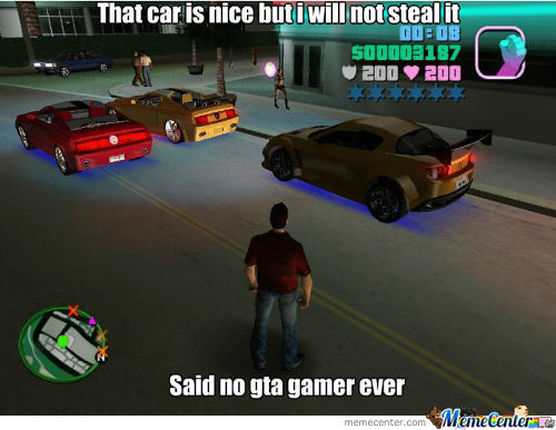 Said No Gta Gamer Ever