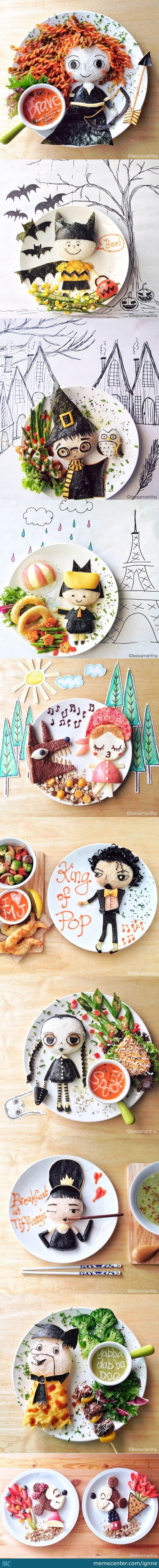 Samantha Lee Food Art