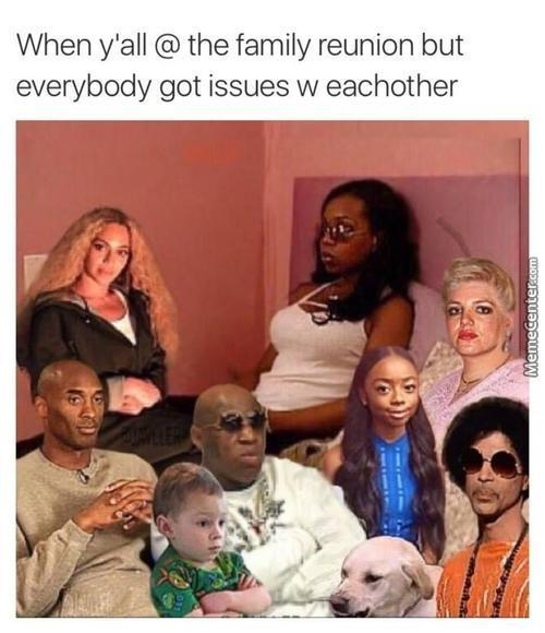 Same Except Everyone In My Family Is Black