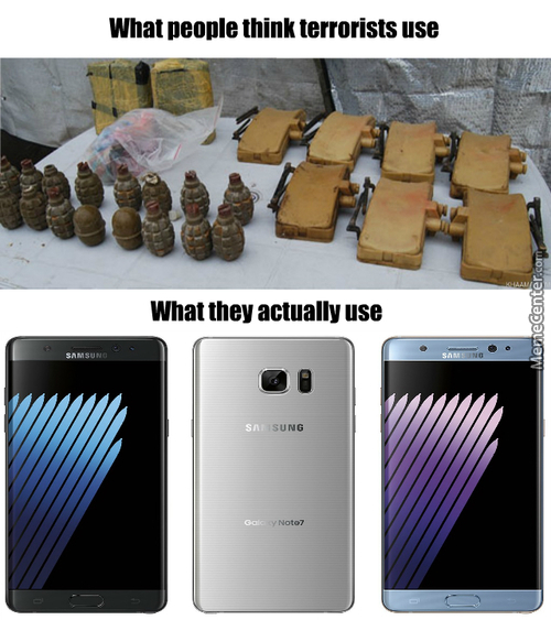 Samsung Supports Terrorism Confirmed