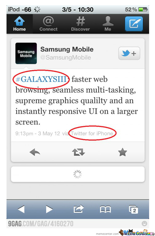 Samsung You're Doing It Wrong