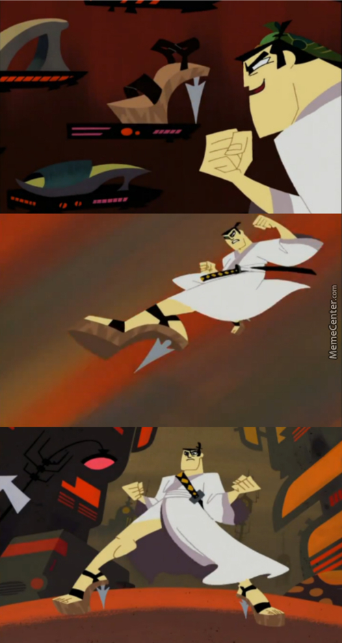 Samurai Jack Rocked Those Heels!