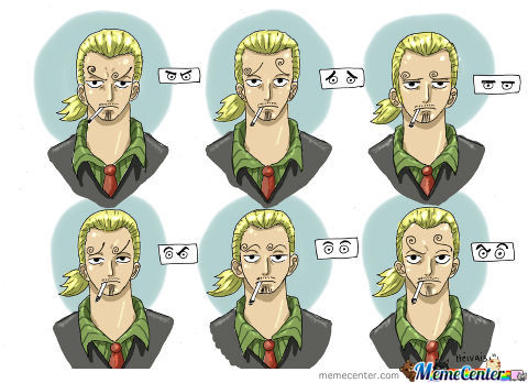 Sanji´s Eyebrows