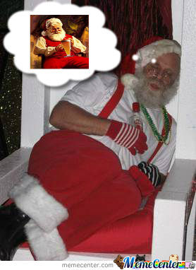 Santa Dreams Of Beer