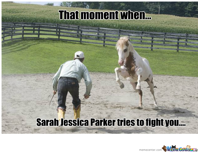 Sarah Trying To Fight