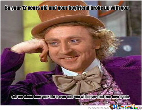 Sarcastic Willy Wonka