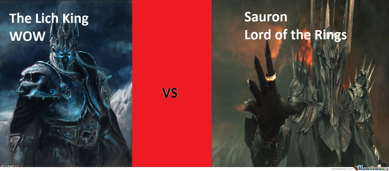 Sauron And The Lich King