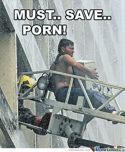 Save All The Porn!
