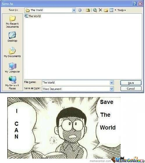 Save The World Xd