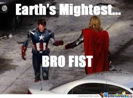 Saving The World One Bro Fist At A Time