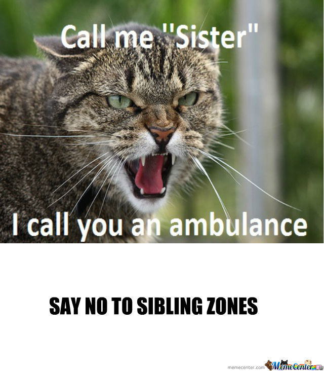 Say No To Sibling Zones