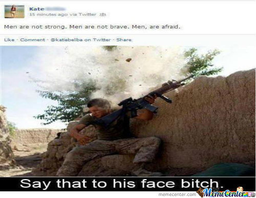 Say That To His Face