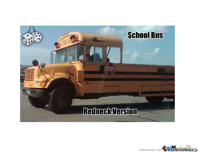 School Bus Redneck