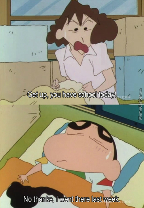 School Is Coming (Crayon Shin-Chan)